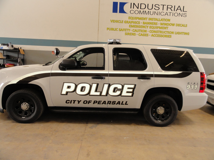 City of Pearsall Police Graphics