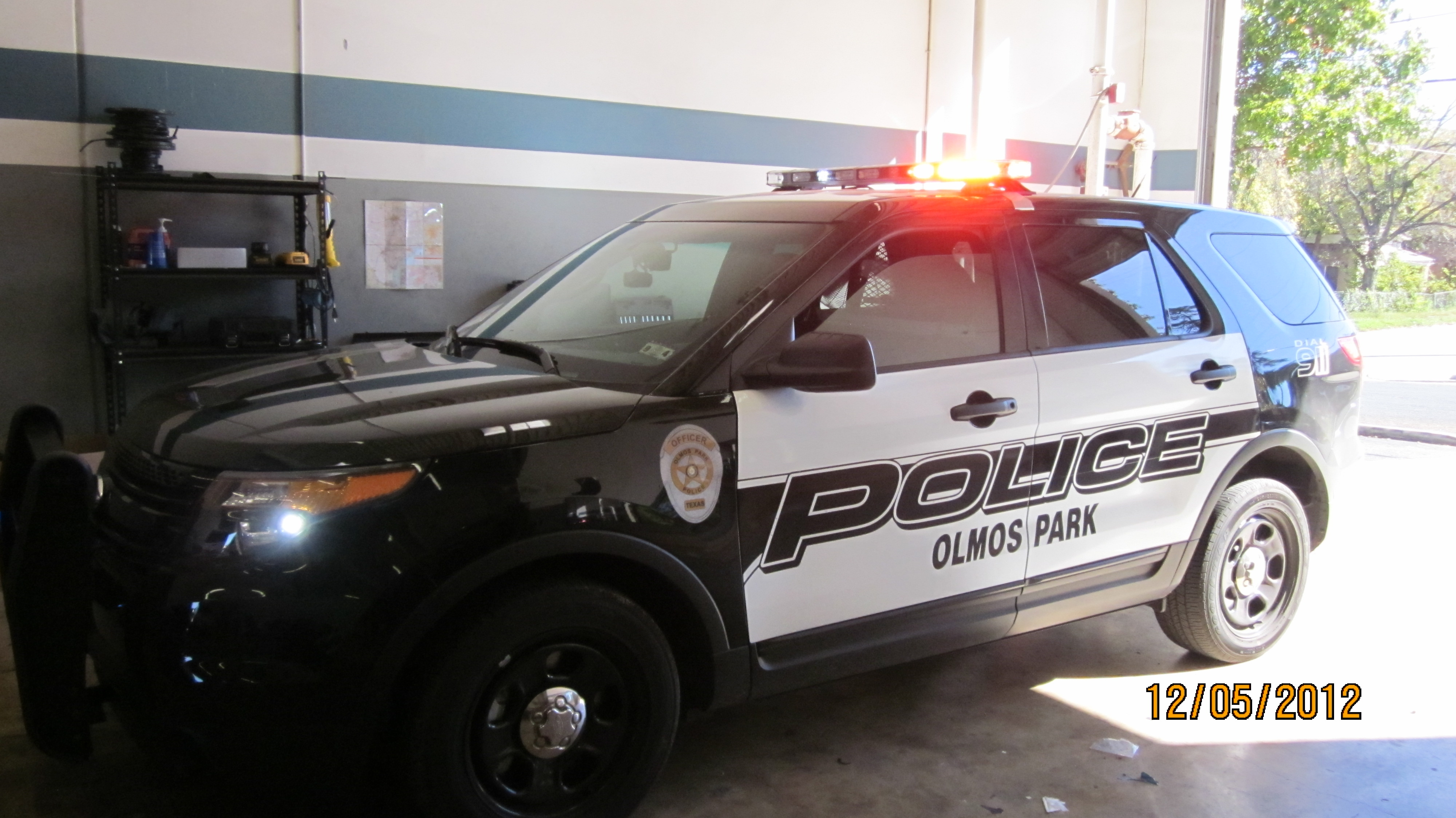 Olmos Park Police Graphics 5
