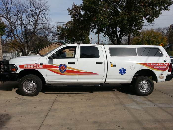SAFD EMS Command 3 Install and Graphics