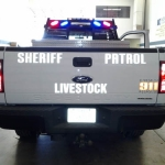 BCSO Livestock Truck Back View