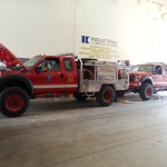 Brush Trucks SAFD